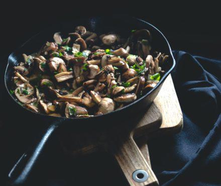 [RECETTE] Poêlée de champignons à la bière brune