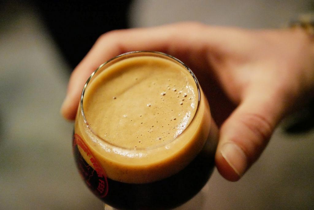 verre de bière Stout