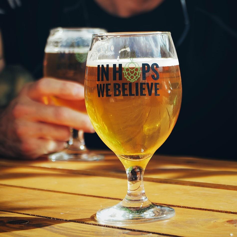 Forme de verre à bière : ballon