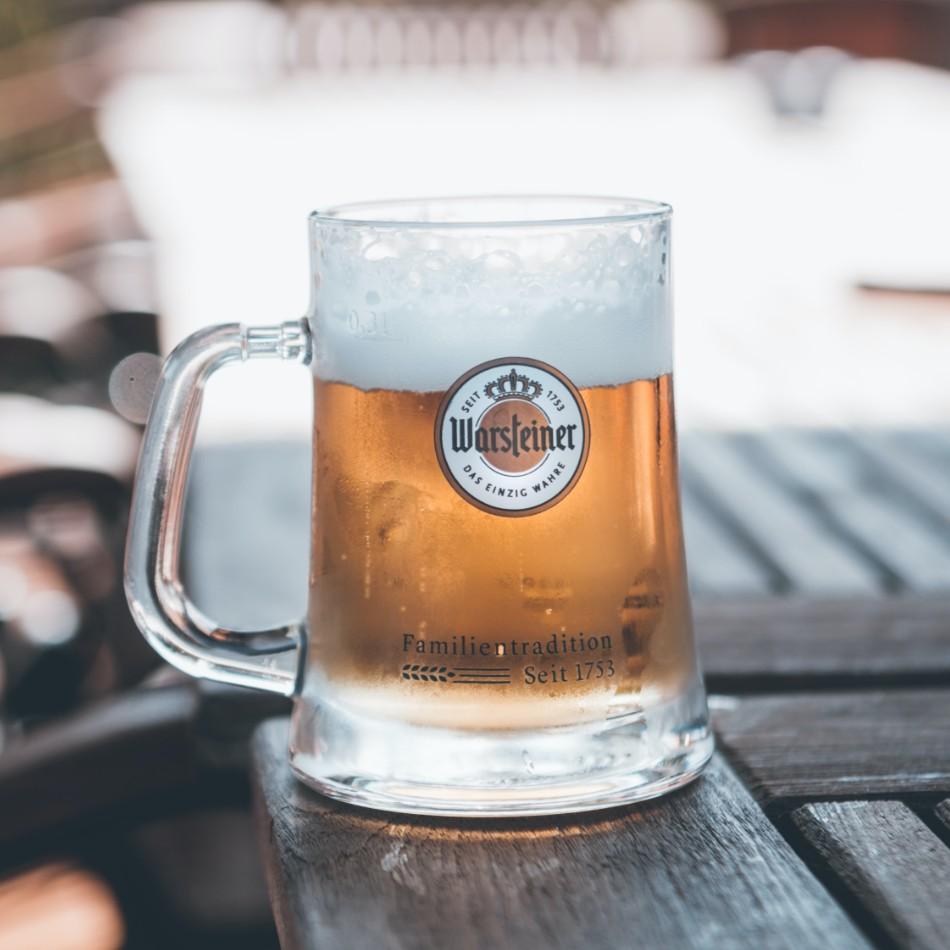 Forme de verre à bière : chope