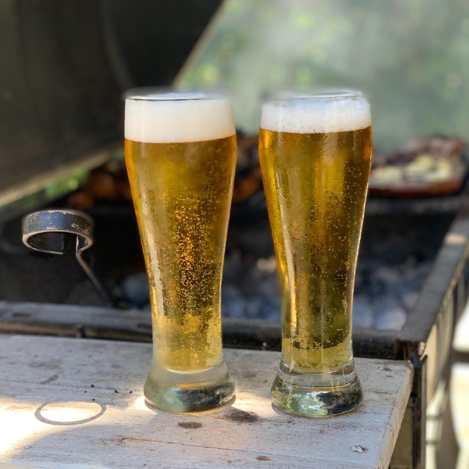 Forme de verre à bière : flûte